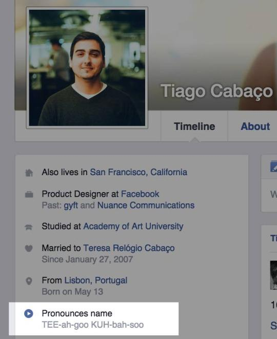 fb name pronounciation