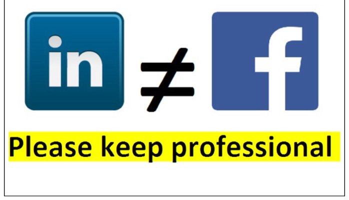 LinkedIn-facebook-use